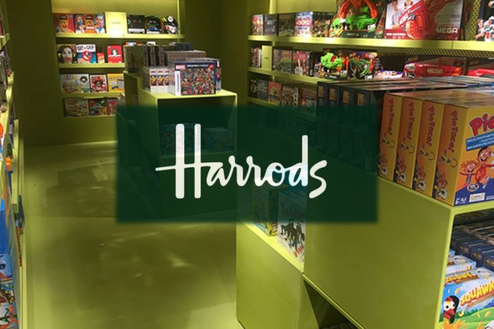 Polished concrete floors at Harrods toy store Harrods London by Polished concrete specialists