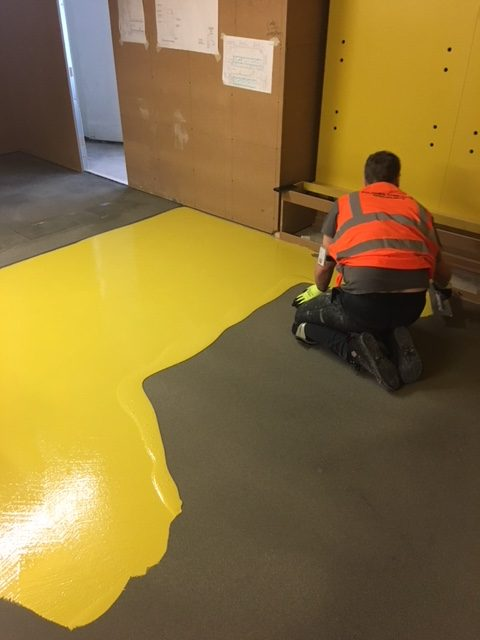 Harrods toy department polished concrete flooring in Ardex Pandomo Loft