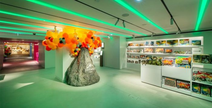 Harrods toy department polished concrete flooring by Polished Concrete Specialists