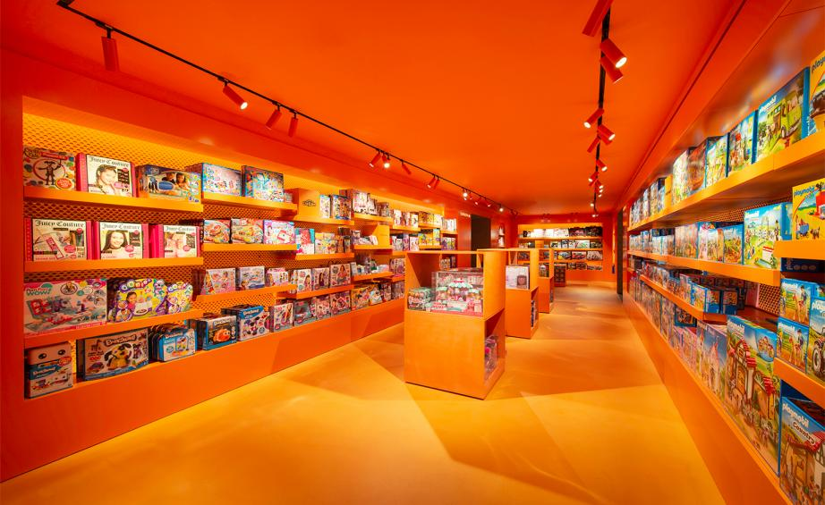 Polished concrete floors at Harrods toy store Harrods London by Polished concrete specialists Professional Photos
