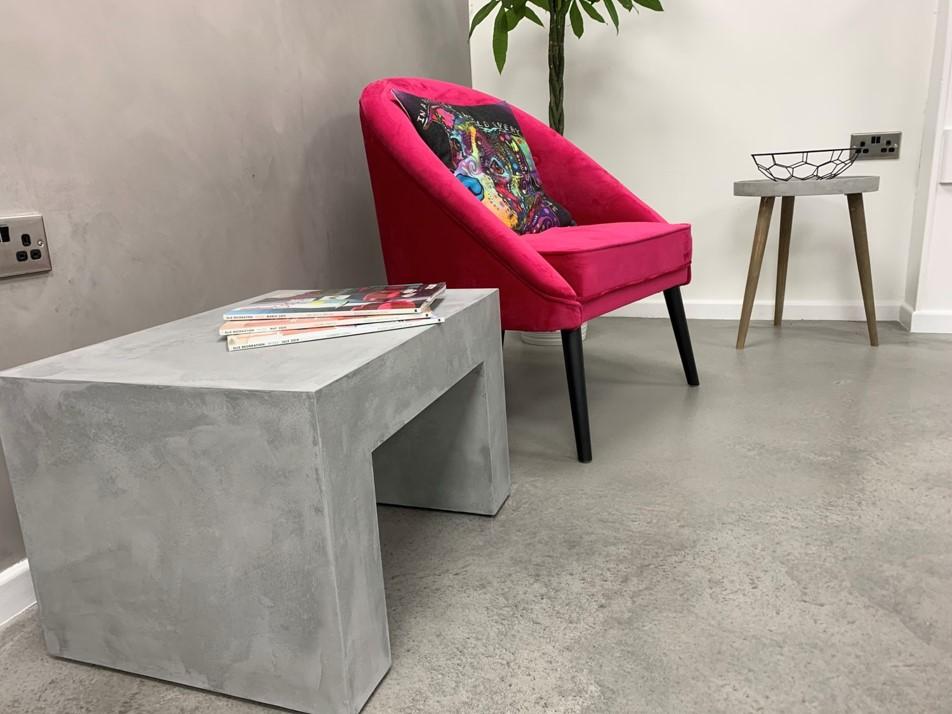 Polished Concrete Speciliats Showroom Concrete Floors
