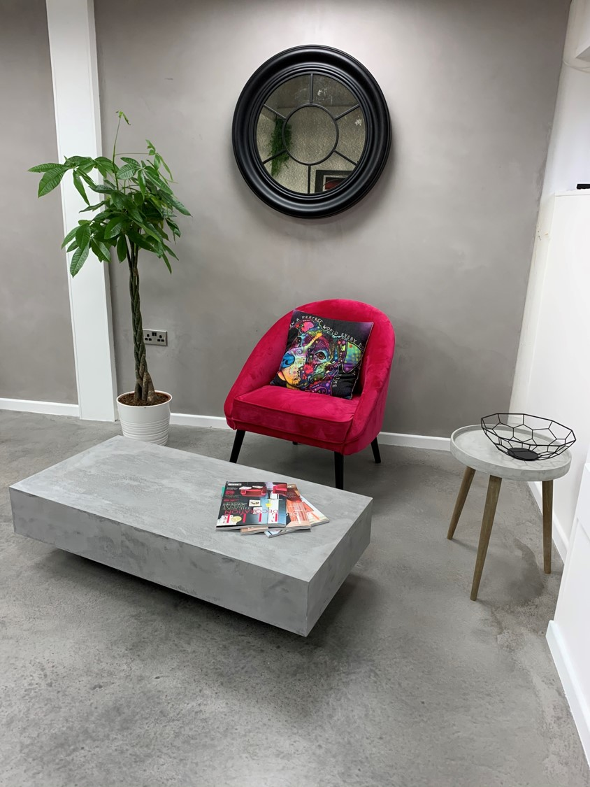 Polished Concrete Speciliats Showroom Concrete Walls, Floors and Tables