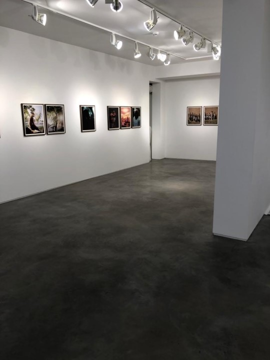 Polished Concrete Flooring at Huxley Parlour Art Gallery in Mayfair London By Polished Concrete Specialists