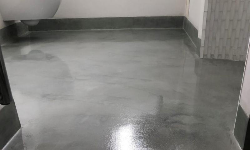 Polished Concrete Floors Bathroom Hampstead London by Polished Concrete Specialists 5Polished Concrete Floors Bathroom Hampstead London by Polished Concrete Specialists 5