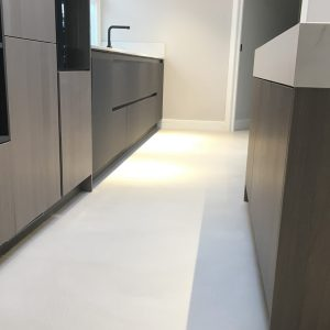 Polished Concrete Specialists Ardex Pandomo Loft Microcement Floors Kitchen Floor 2