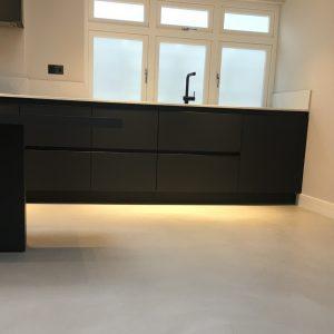 Polished Concrete Specialists Ardex Pandomo Loft Microcement Floors Kitchen Floor 3